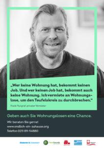Endlich ein Zuhause/Vermieter Frank Flutgraf